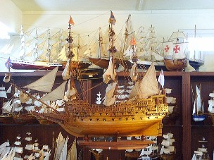 ship-modell
